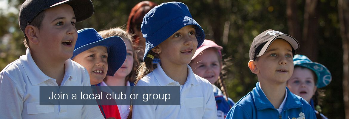 Join a local club or group