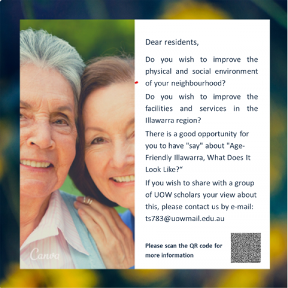 Age Friendly Illawarra - A scoping Study