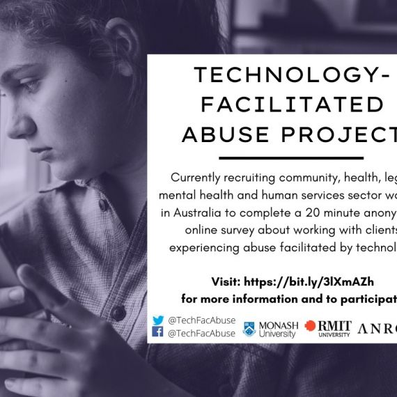 ANROWS survey for service providers - technology-facilitated abuse